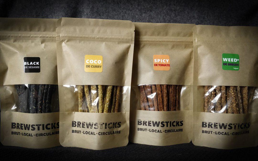 Des biscuits pour l'apéritifs produits grâce au brassage de la bière