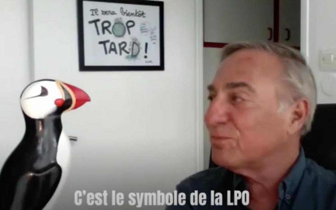 L'origine de la LPO racontée par son Président, Allain Bougrain-Dubourg
